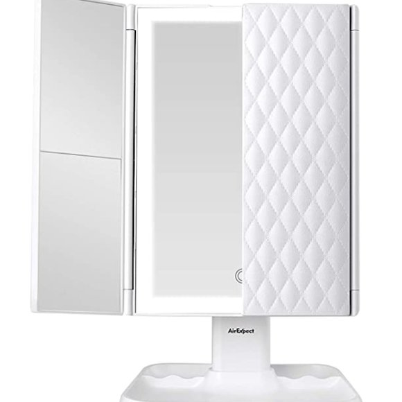 Other - Tri-fold Mirror with Lights Modes  72 LED